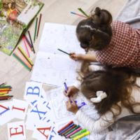 children colouring